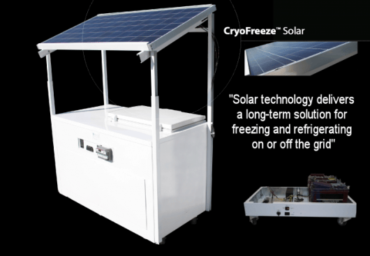 The IIS solar refrigeration solution can be customized to suit your exact needs