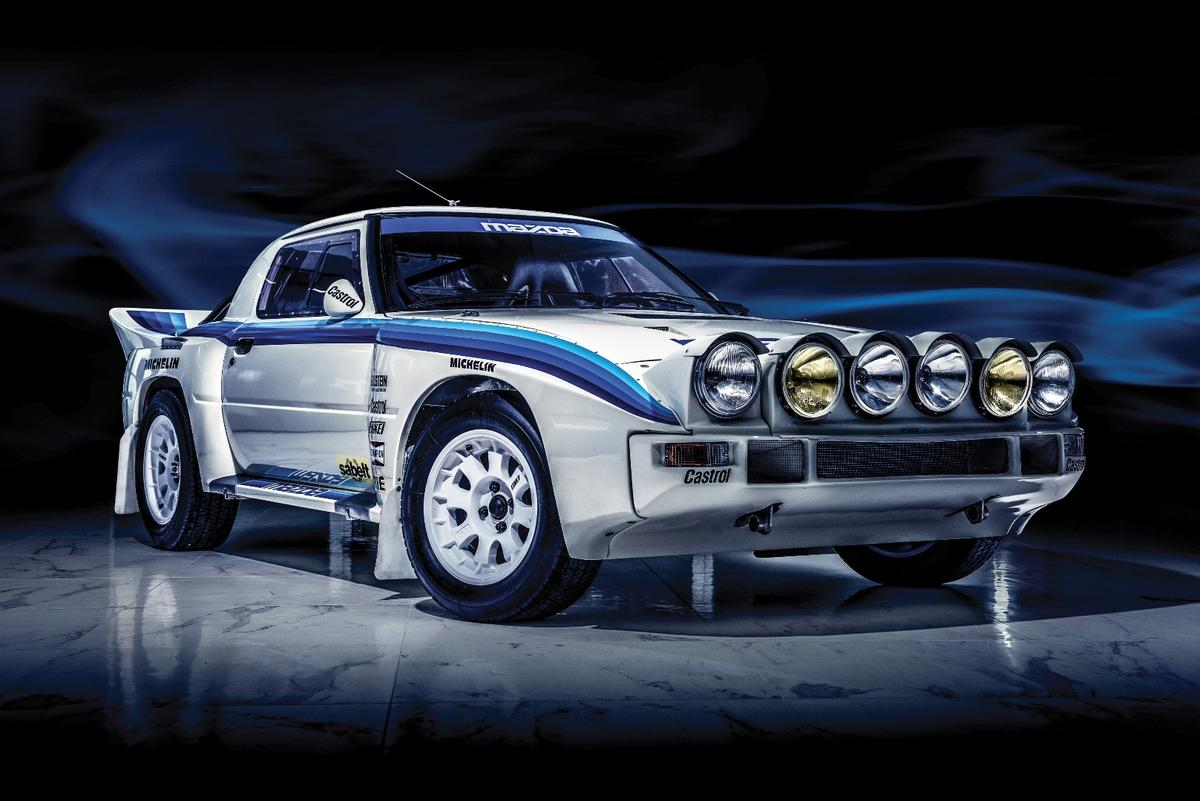 This is one of just seven Mazda RX-7 Evo Group B Works built