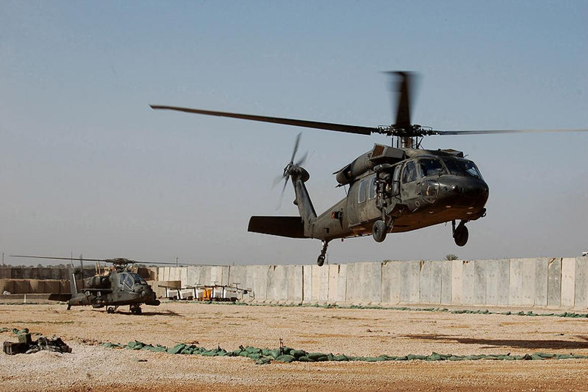 New laser technology could be used to protect military helicopters from heat-seeking missiles