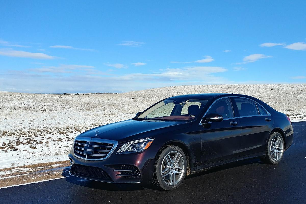"""""""Let them eat cake."""" If Marie-Antoinette reallyhad said that phrase, she would have said it from a Mercedes-Benz S450"""