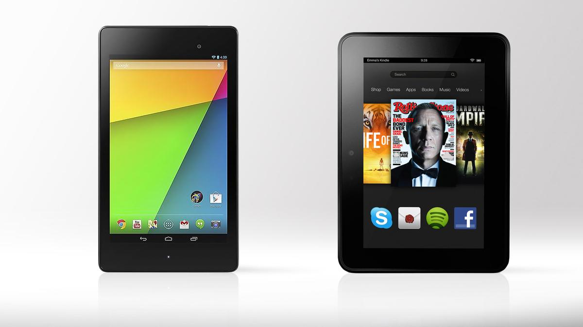 Gizmag compares the specs and features of the 2013 Nexus 7 and the 2012 Kindle Fire HD (spoiler: this one ain't pretty)