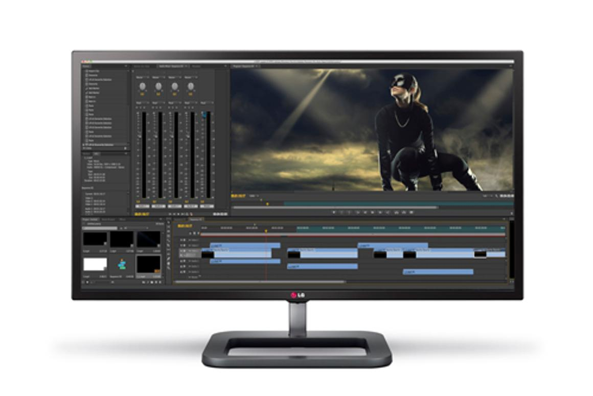 The LG 31MU97 monitor has DCI 4K resolution of 4096 x 2160, which is a digital cinema standard