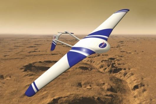 Artist's rendering of Aurora's MarsFlyer HADD air vehicleImage credit: Aurora Flight Sciences