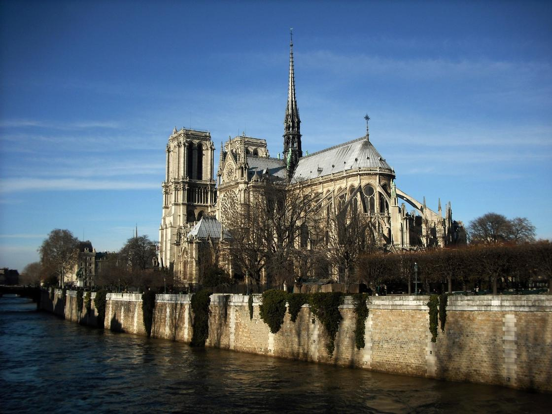 """French President Emmanuel Macron said he wants the Notre-Dame to be rebuilt """"even more beautifully,"""" and for the work to be completed within five years(Credit:CC 2.0/Flickr user Klovovi)"""