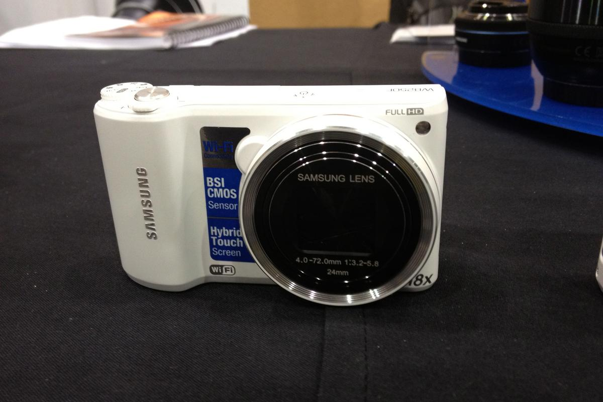 Samsung's new WB250F at CES 2013