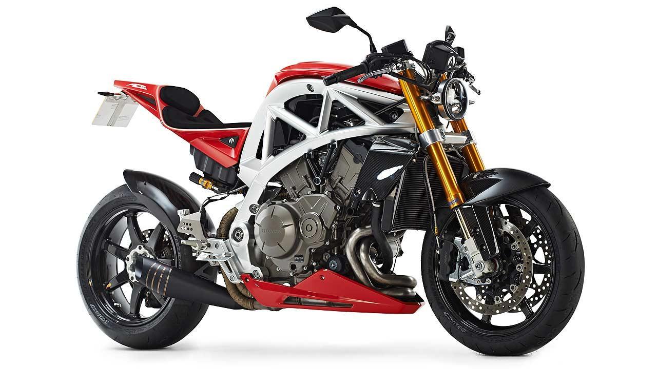 Ariel Ace: The massively configurable motorcycle platform