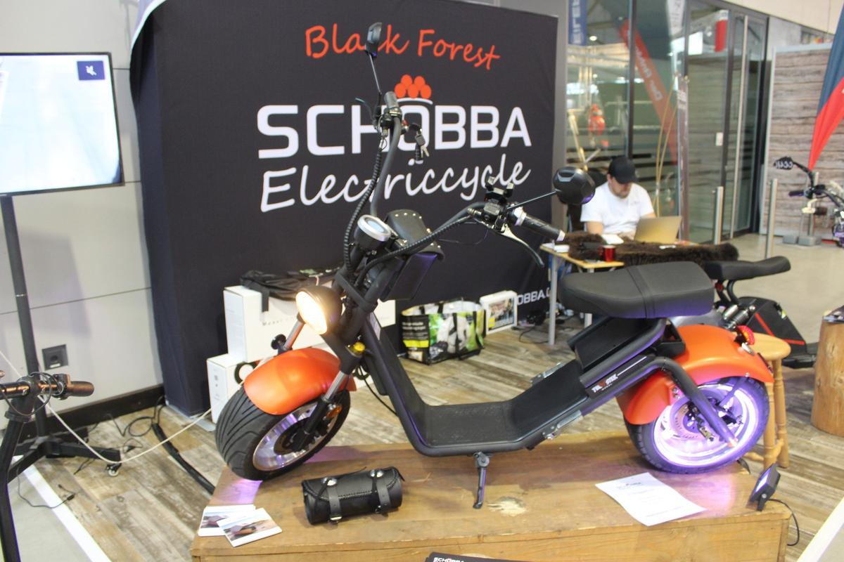 Schobba Electric Cycles has two models on display at CMT 2019, including the 2.0 pictured here