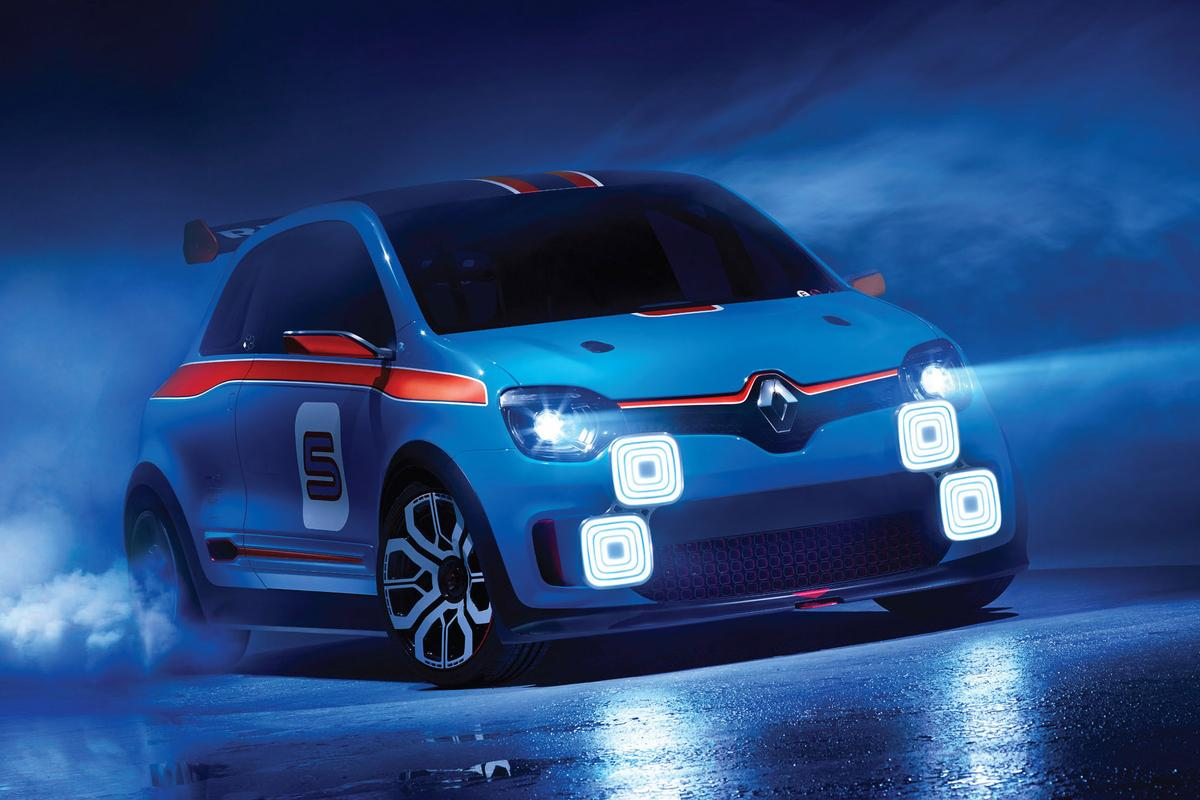 Four customizable LED headlights are a modern-day take on light racks used by night rally racers