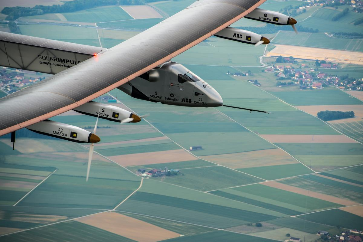 The Solar Impulse 2 made its first flight on Monday