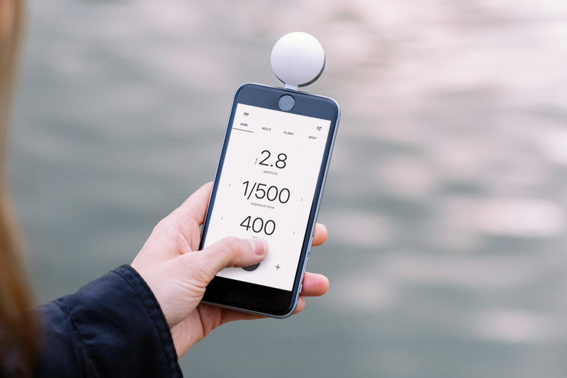 Lumu Power is a powerful light meter for the iPhone