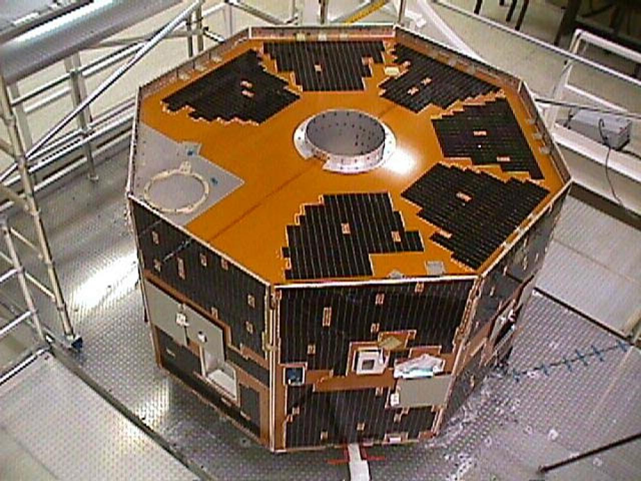 The IMAGE satellite was lost in 2005