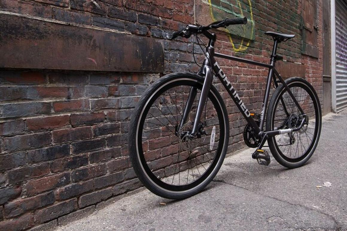 The 8-speed version of the Invincible bike