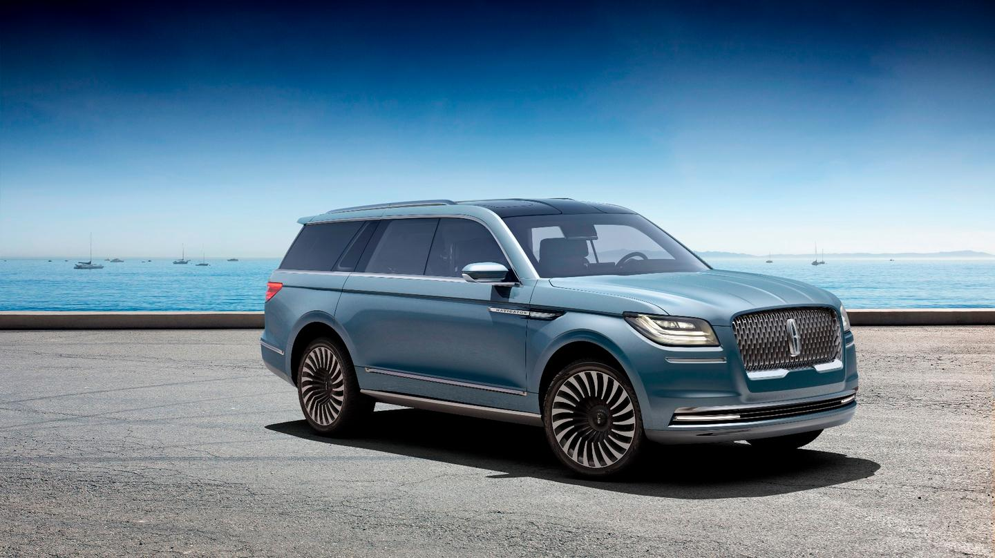 Lincoln has revealed the Navigator Concept at the New York International Auto Show