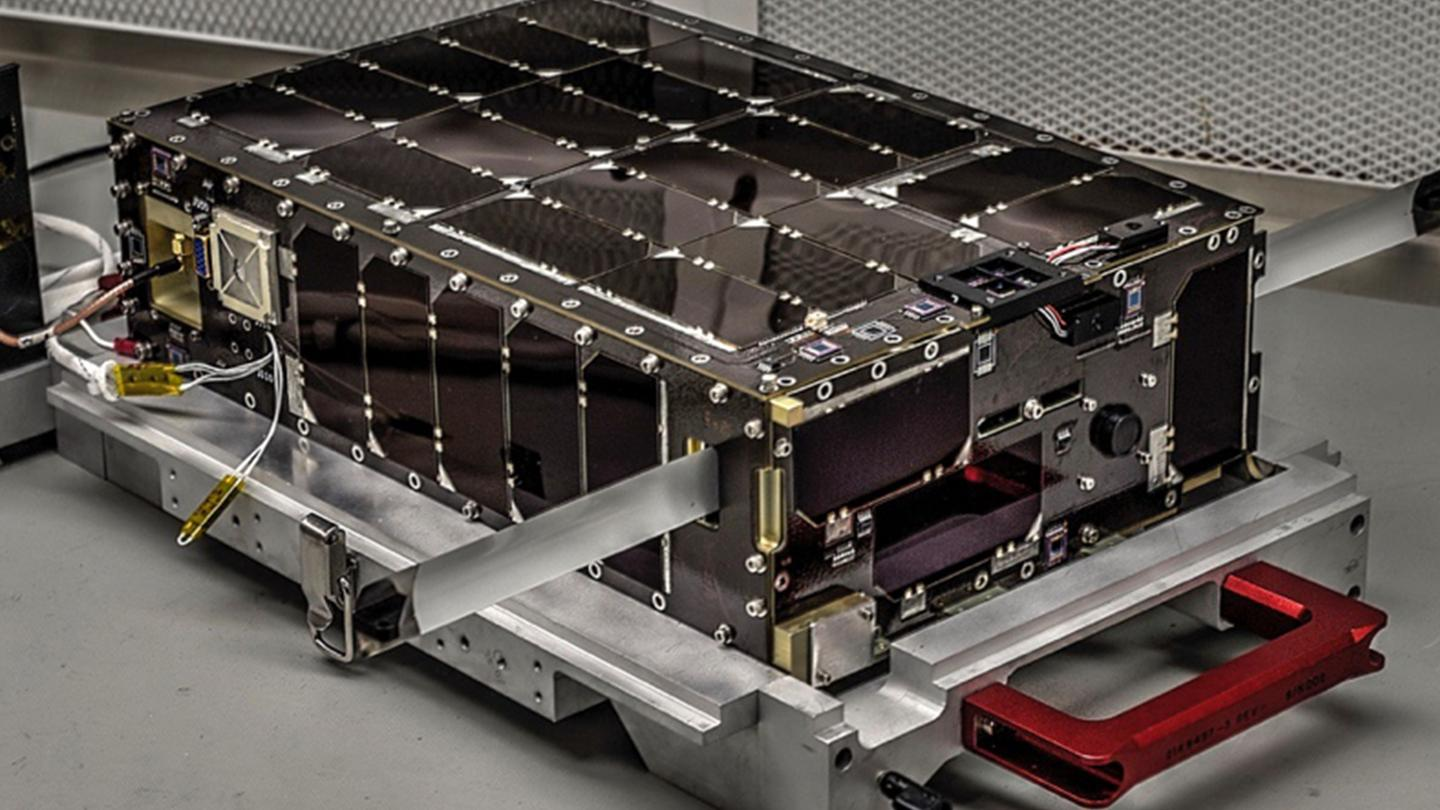 NASA Goddard's 6U Dellingr CubeSat is designed to make CubeSats more robust and reliable