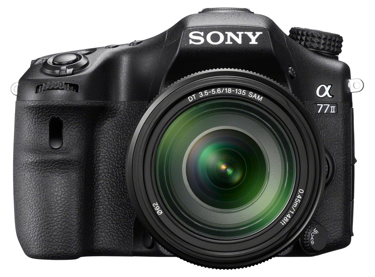The Sony A77 II is an advanced amateur-oriented DSLR which has professional-level speed aspirations