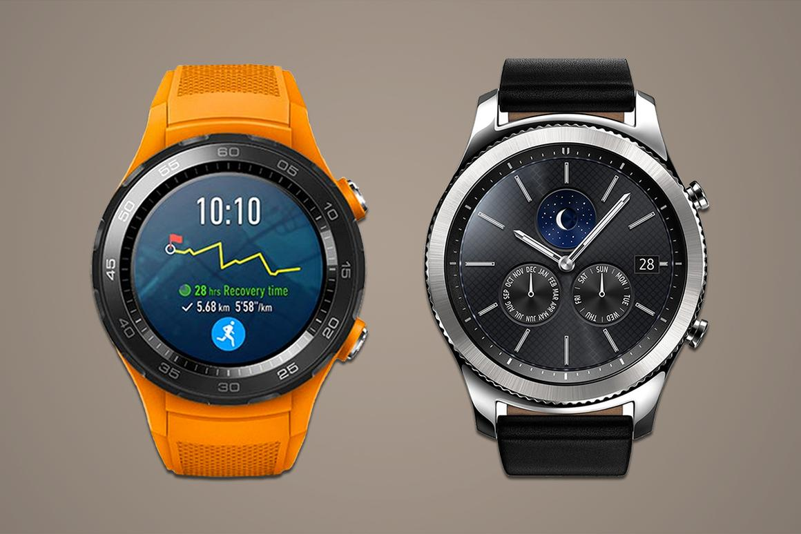 Huawei's Watch 2 and Watch 2 Classic hold their own against the SamsungGear S3 Classic and Frontier