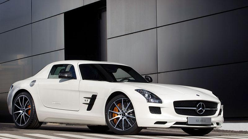 2013 Mercedes-Benz SLS AMG GT Coupé