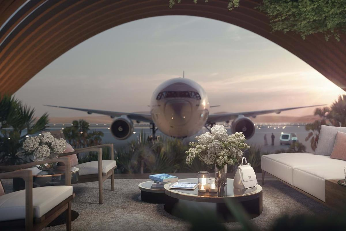Foster + Partners aims for a luxury experience at the Red Sea Airport