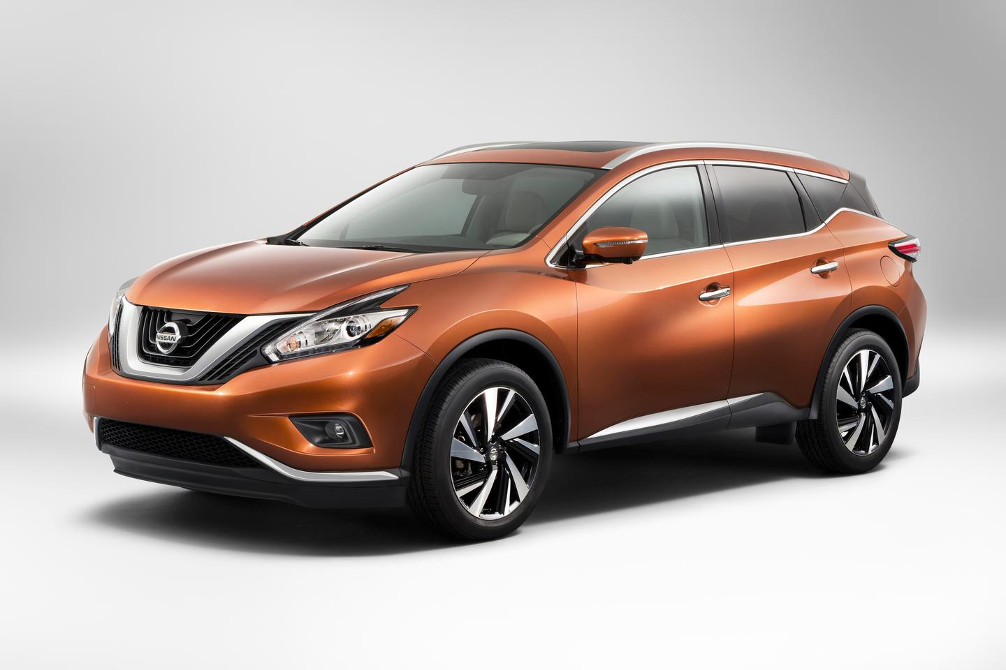 The new Murano is claimed to be 16 percent more aerodynamic than the previous model