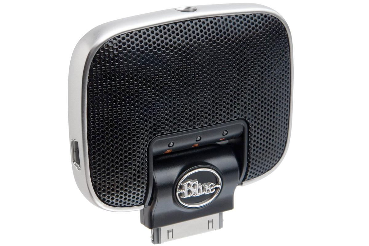 Blue Microphones has released its Mikey Digital - a high quality plug-and-play stereo microphone for the iPhone, iPad or iPod touch