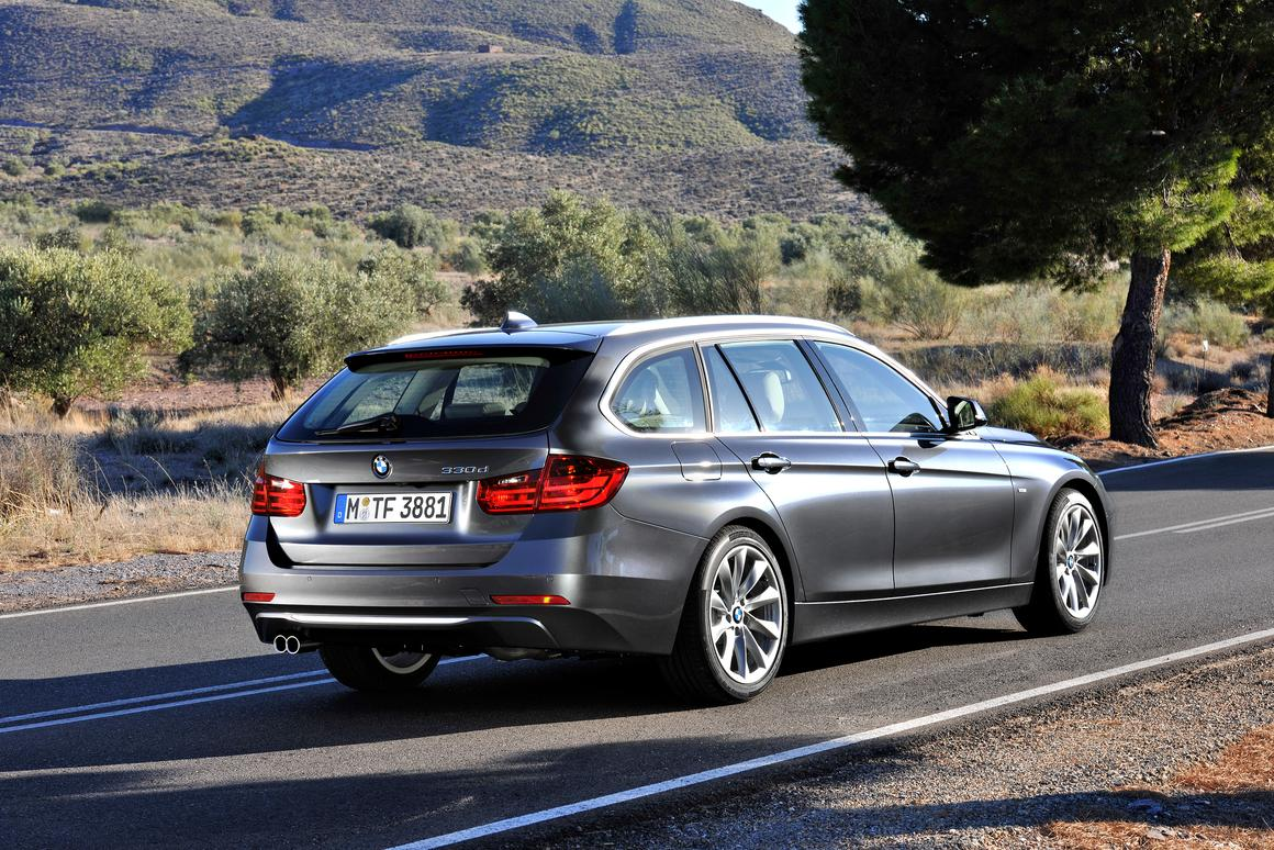BMW reveals new Touring models of F30 3 series