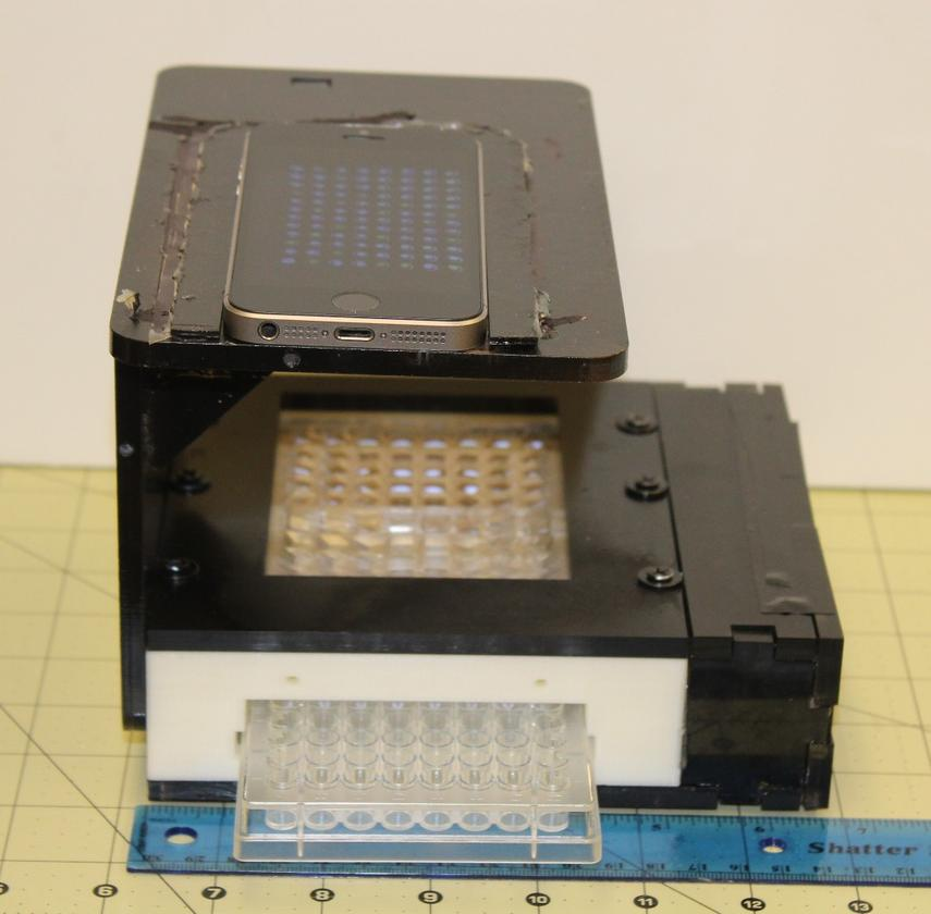 The prototype version of the mReader cost approximately US$50 to make