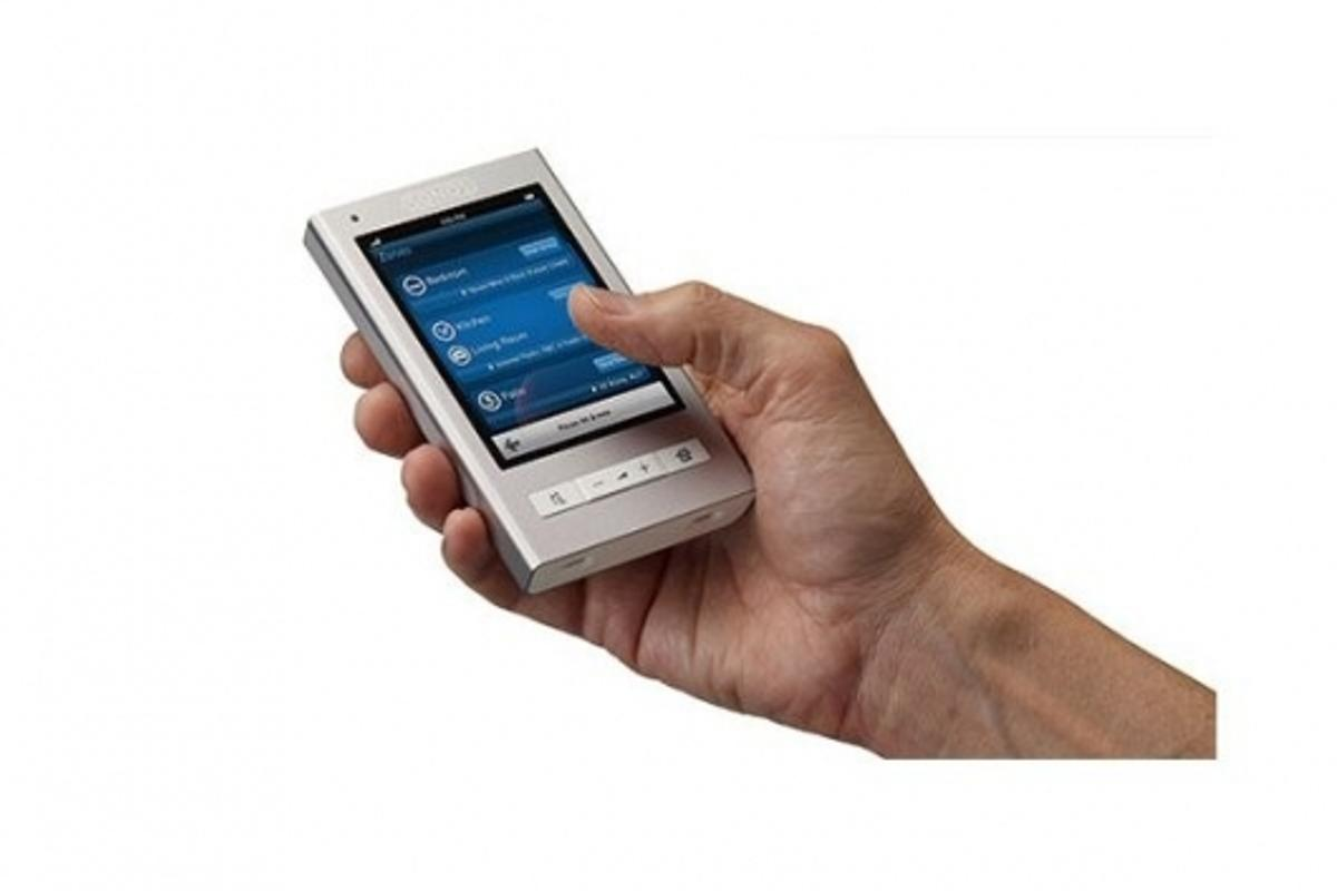 Get hands on with the CR200 controller touchscreen 640 x 480 LCD screen