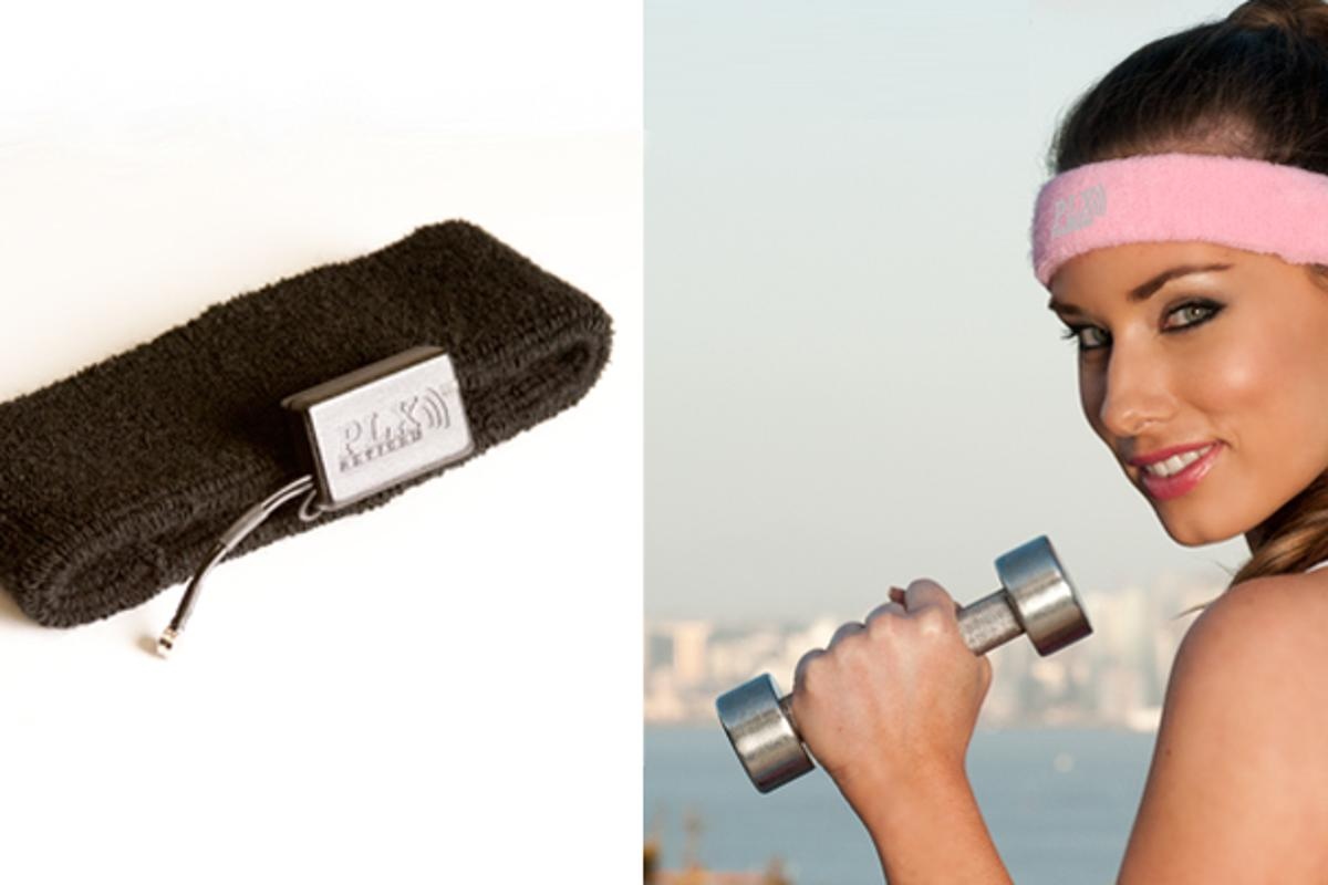 The XWave Sport is a headband that measures and detects the wearer's brainwave information