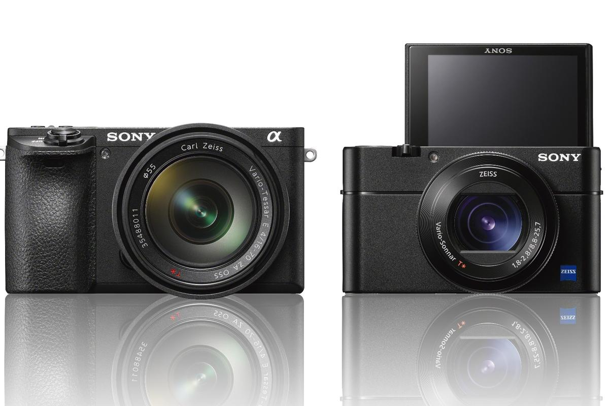 TheSony A6500 (or α6500) and RX100 V are apair of speedycameras