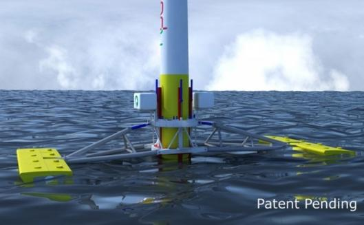 Green Ocean Energy's Wave Treader