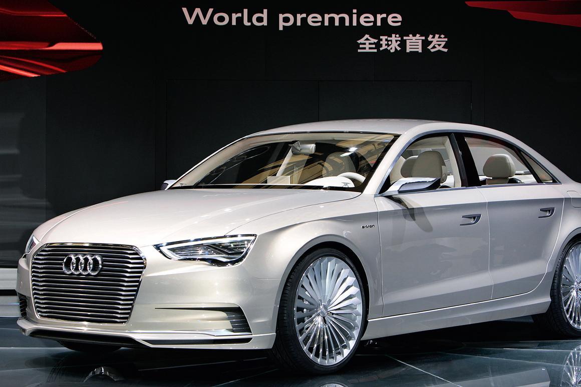 Audi's hybrid A3 E-tron