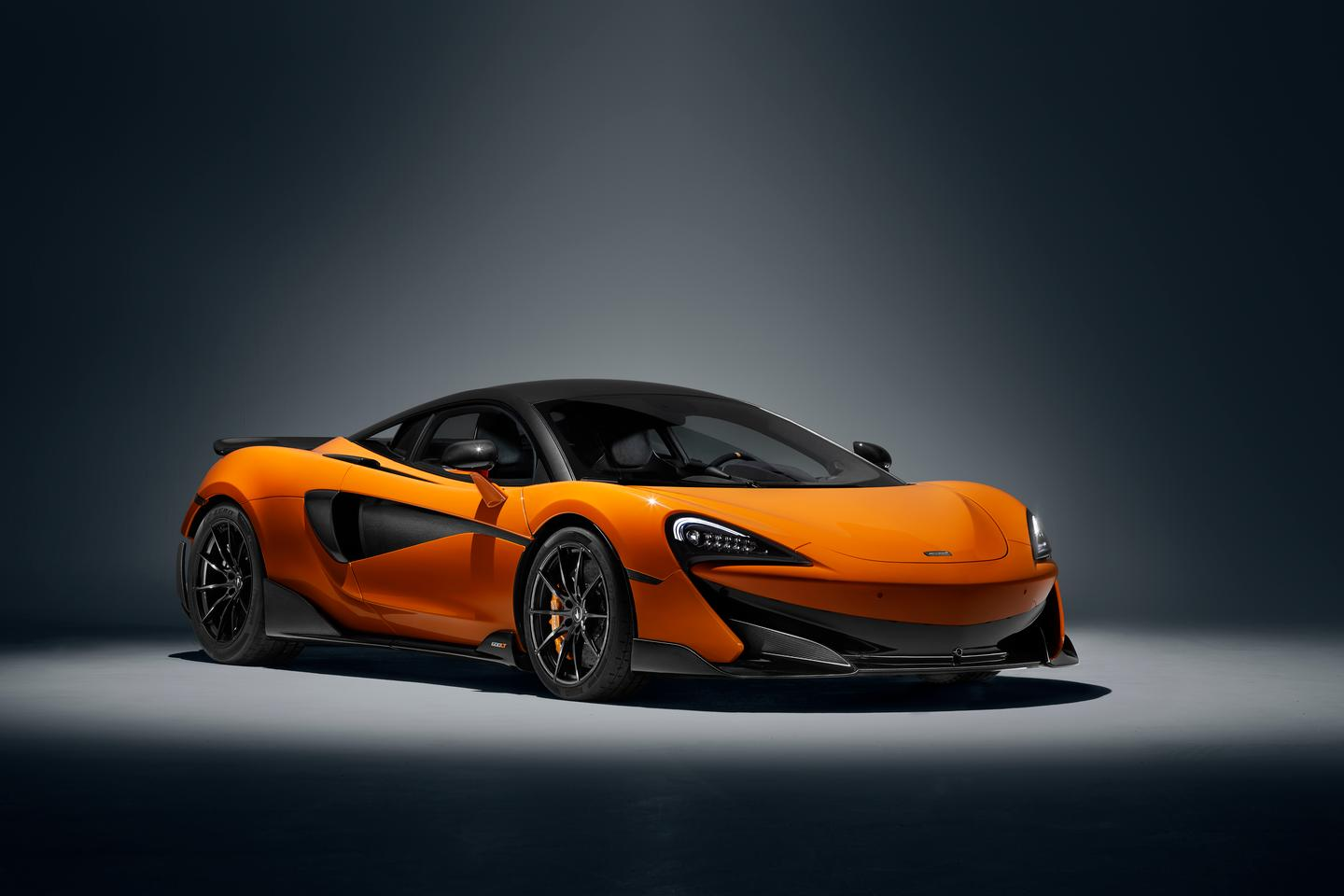 The McLaren 600LT produces 592 bhp (441.5 kW) of umph from its 3.8-liter twin-turbo V8
