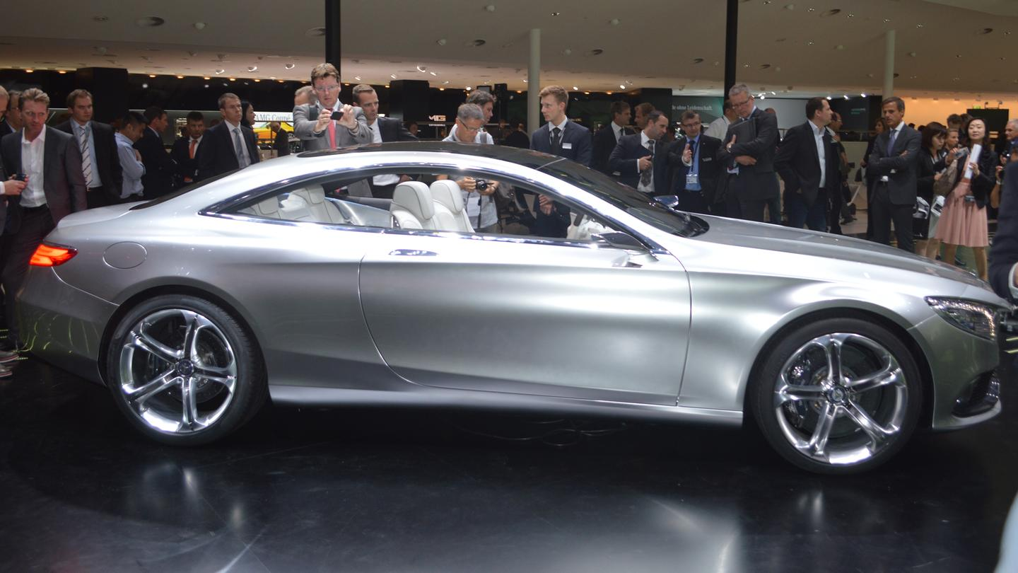 Mercedes' Concept S-Class (Photo: Gizmag.com)