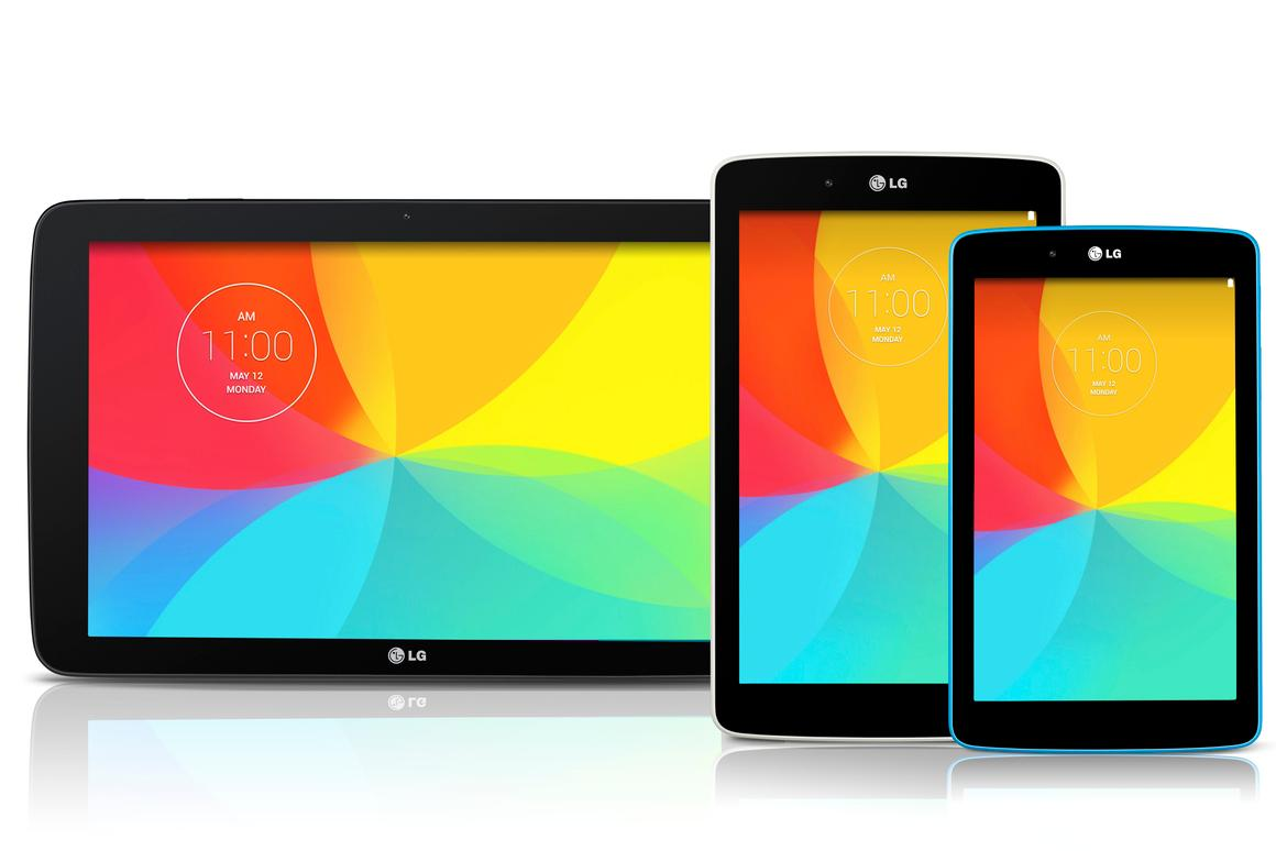 LG has expanded its G Pad range with three new tablets