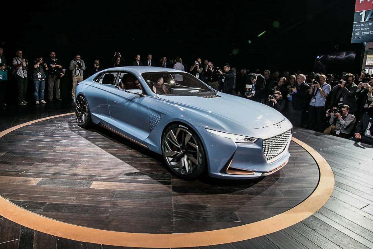 Genesis New York Concept: Genesis is a young brand, but it already has a knack for eye-catching concept cars