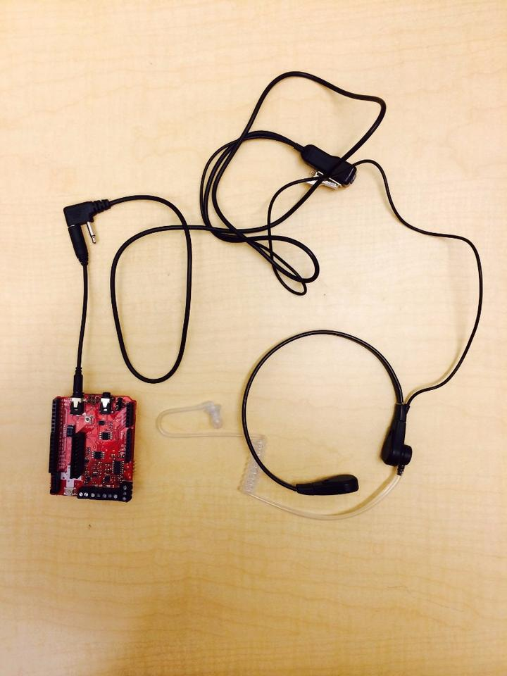 A prototype of the Autodietary food monitoring necklace