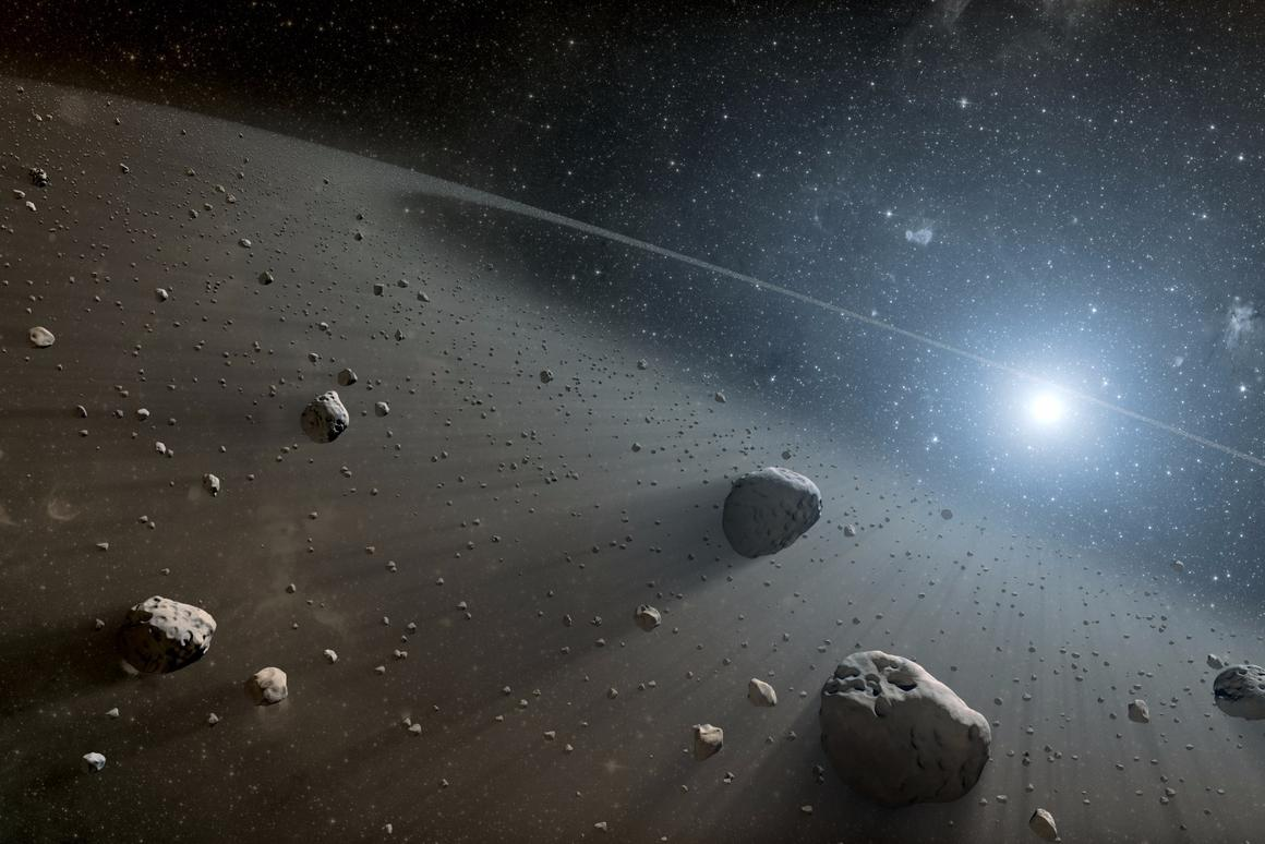 There's a lot of traffic in space, including newly discovered Asteroid 2016 VA