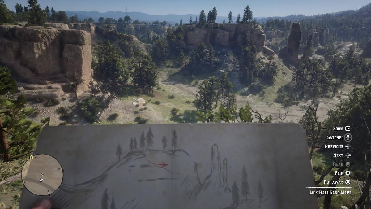 New Atlas deciphers the hand-drawn maps to help you track down the Jack Hall Gang treasure in Red Dead Redemption 2