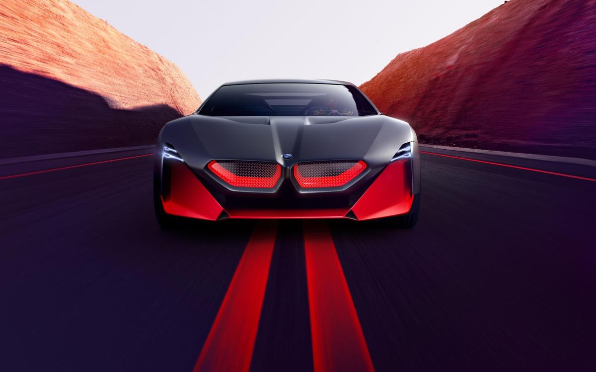 BMWreinterprets its front-end styling for a more futuristic look