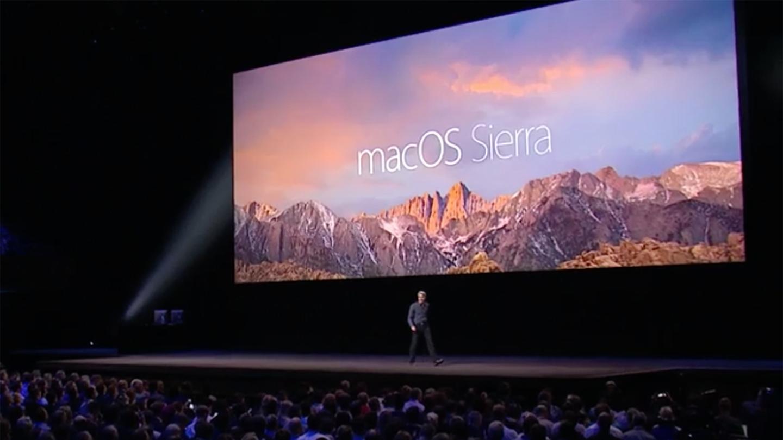 macOSSierra is the next version of Apple's desktop software