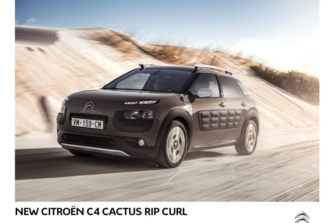 The C4 Cactus Rip Curl has five Grip Control modes for on- and off-road driving