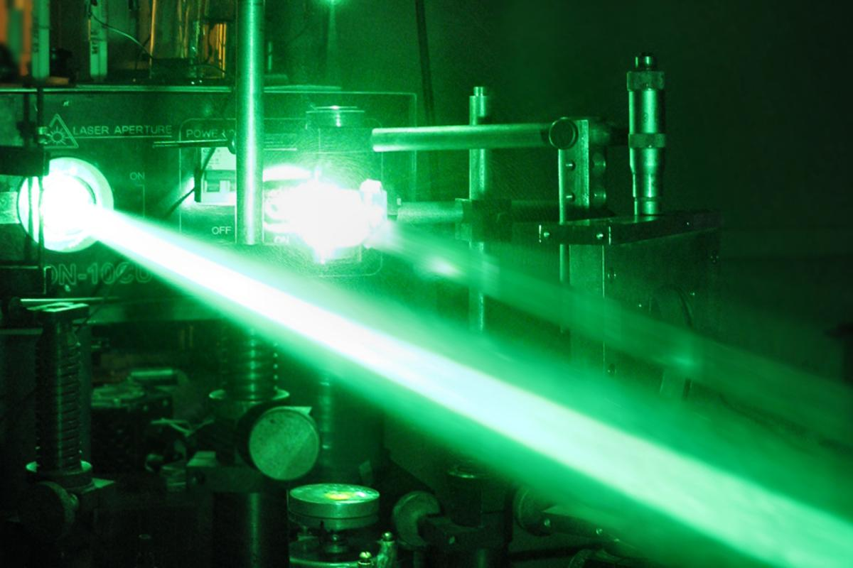 Researchers have demonstrated a tractor beam using a Bessel beam (not pictured) is theoretically possible (Photo: Shutterstock)