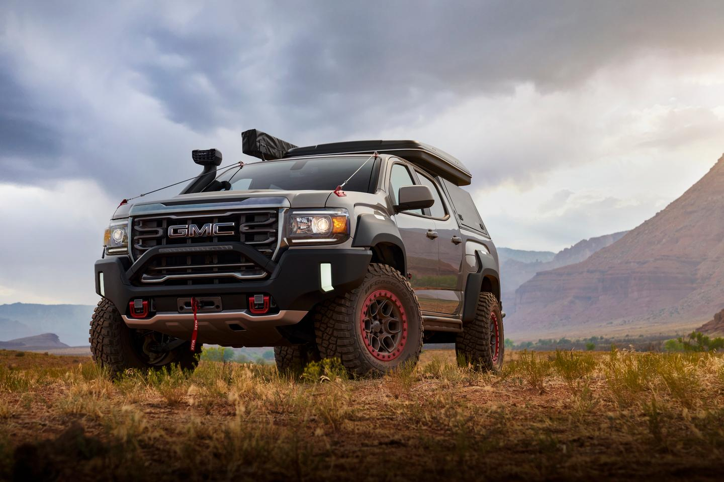 """""""Consumer reaction to this concept's design will help us further serve the growing market of buyers leading authentic outdoor lifestyles,"""" said Buick and GMC Global VP, Duncan Aldred"""