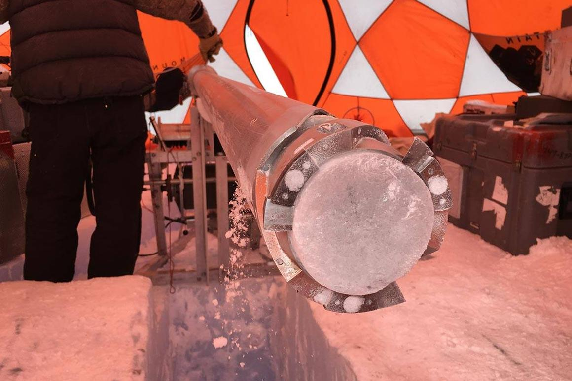 Discovering a new way to age ancient blue ice samples, a team from Princeton is uncovering some of the oldest ice core samples ever found