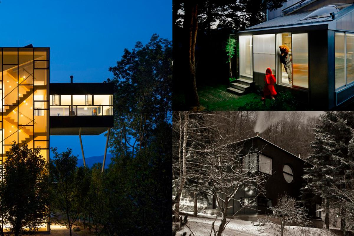 Gizmag gives the nod to 10 outstanding forest-based retreats