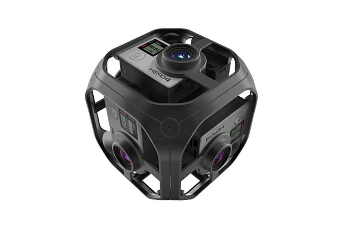 GoPro's six-camera, 360-degree VR rig up for preorder