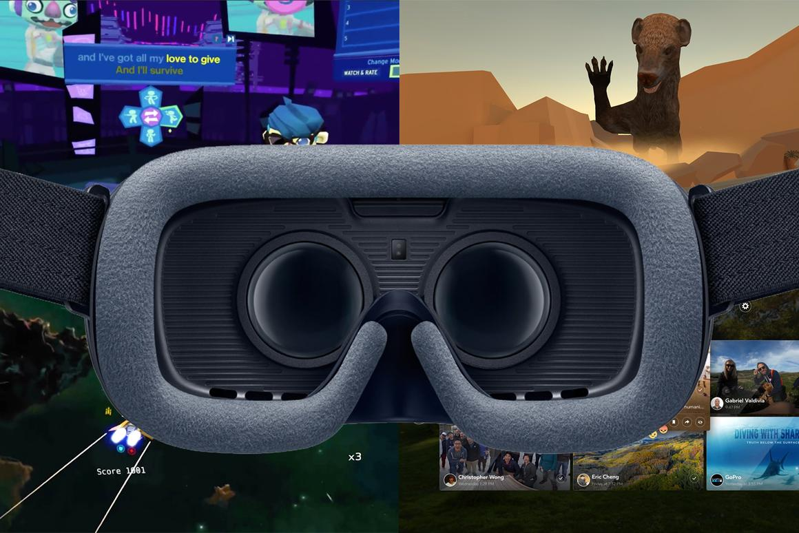 The best new games and apps for the Gear VR