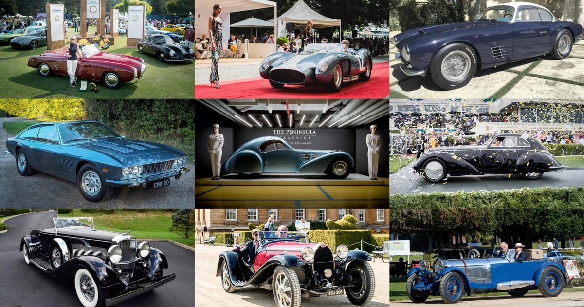 2018 Peninsula Classics Best of the Best Award - the contenders
