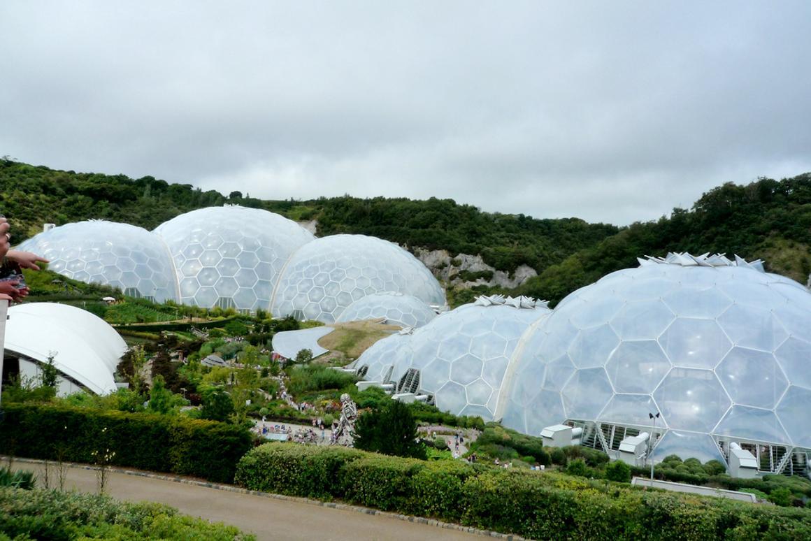 Eden Project impressive Biomes(Image by COMAS)
