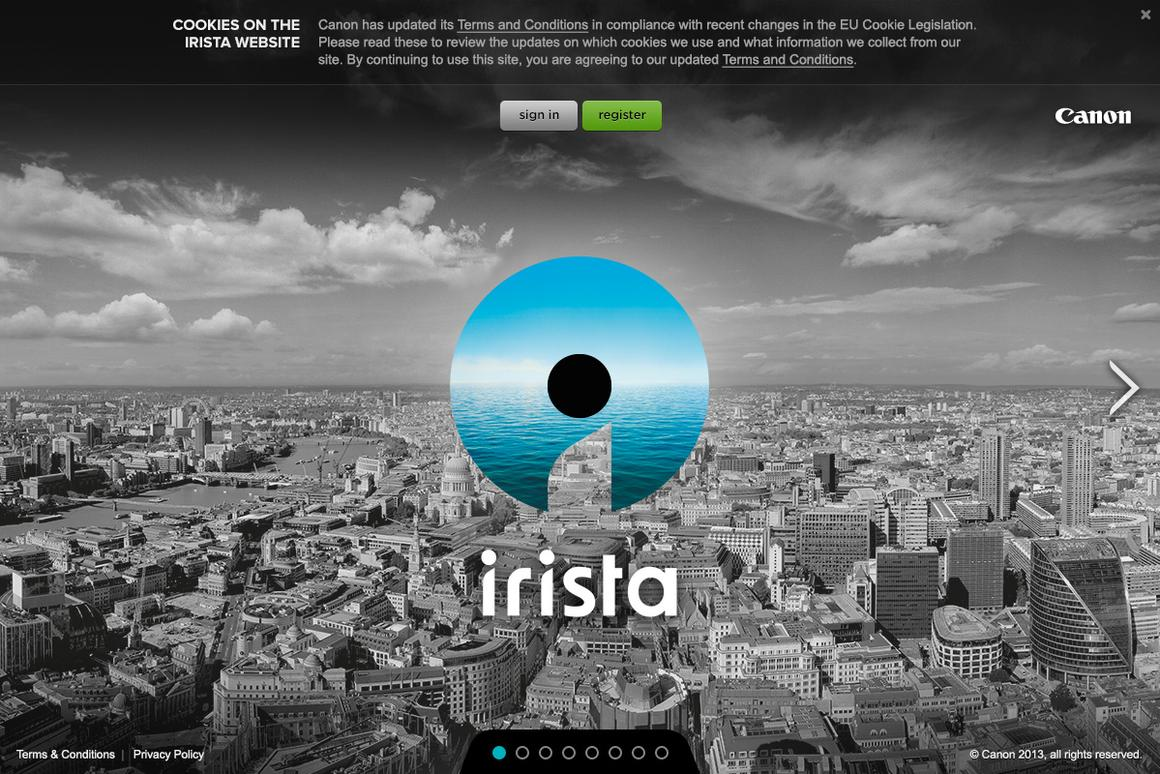 Canon has launched a photo-centric cloud vault named irista